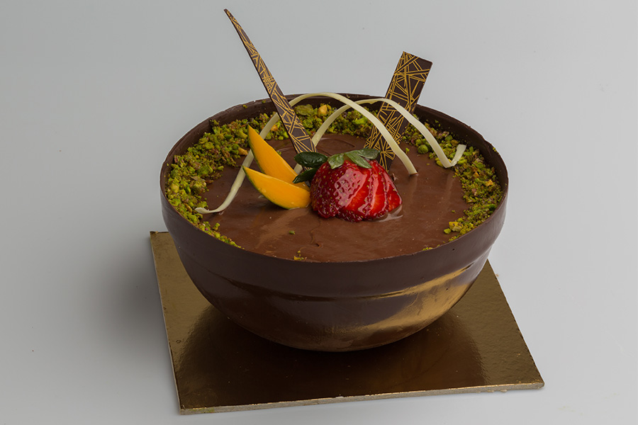 Chocolate Pistachio Bowl