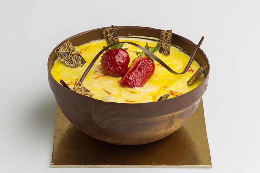 Saffron Brûlée Bowl